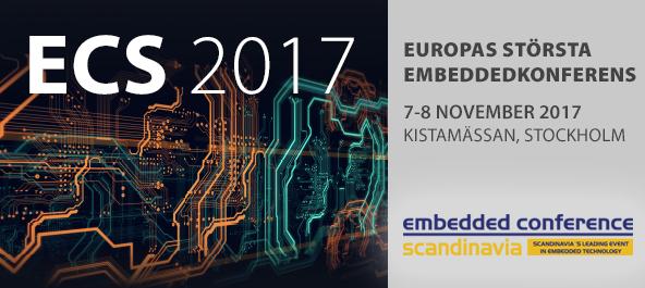 Embedded Conference Scandinavia 2017